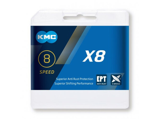KMC X8 EPT Kæde 7-/8-speed